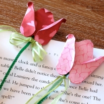 rose bookmarks